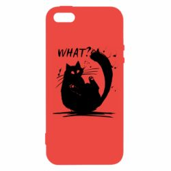 Чохол для iPhone 5 What cat