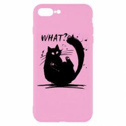 Чохол для iPhone 8 Plus What cat