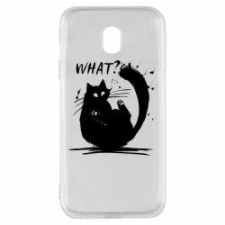Чохол для Samsung J3 2017 What cat