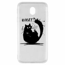 Чохол для Samsung J7 2017 What cat