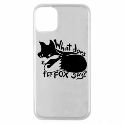 Чохол для iPhone 11 Pro What does fox say?