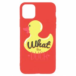 Чохол для iPhone 11 Pro What the duck?