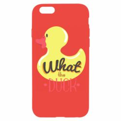 Чехол для iPhone 6/6S What the duck? - FatLine