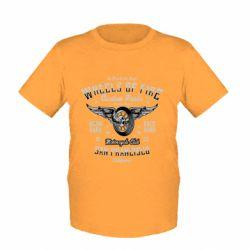 Дитяча футболка Wheels Of Fire