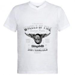 Чоловіча футболка з V-подібним вирізом Wheels Of Fire
