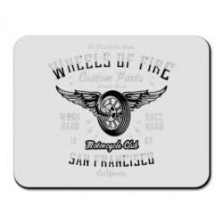 Килимок для миші Wheels Of Fire