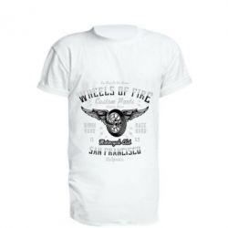 Подовжена футболка Wheels Of Fire