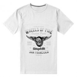 Чоловіча стрейчева футболка Wheels Of Fire