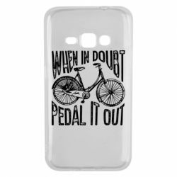 Чохол для Samsung J1 2016 When in doubt pedal it out