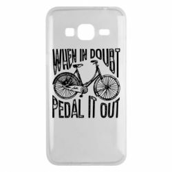 Чохол для Samsung J3 2016 When in doubt pedal it out
