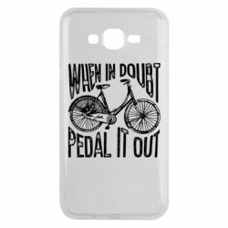 Чохол для Samsung J7 2015 When in doubt pedal it out