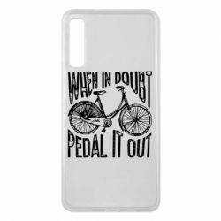 Чохол для Samsung A7 2018 When in doubt pedal it out