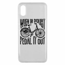 Чохол для Xiaomi Mi8 Pro When in doubt pedal it out