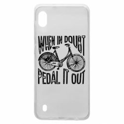 Чохол для Samsung A10 When in doubt pedal it out