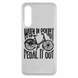 Чохол для Xiaomi Mi9 SE When in doubt pedal it out