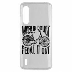 Чохол для Xiaomi Mi9 Lite When in doubt pedal it out