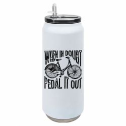 Термобанка 500ml When in doubt pedal it out