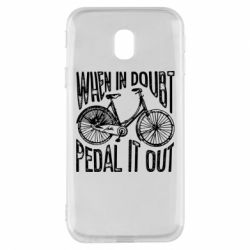 Чохол для Samsung J3 2017 When in doubt pedal it out