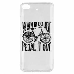 Чохол для Xiaomi Mi 5s When in doubt pedal it out