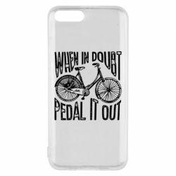 Чохол для Xiaomi Mi6 When in doubt pedal it out
