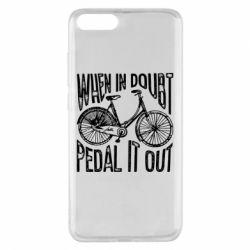 Чохол для Xiaomi Mi Note 3 When in doubt pedal it out