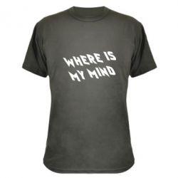 Камуфляжная футболка Where is my mind