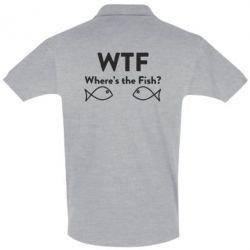 Футболка Поло Where is The Fish