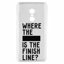 Чехол для Xiaomi Redmi Note 4 Where the is the finish line?