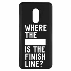 Чехол для Xiaomi Redmi Note 4x Where the is the finish line?