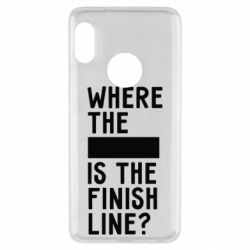 Чехол для Xiaomi Redmi Note 5 Where the is the finish line?