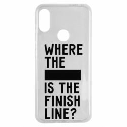 Чехол для Xiaomi Redmi Note 7 Where the is the finish line?