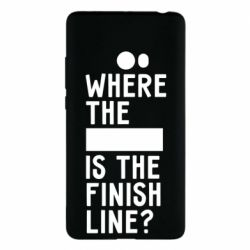 Чехол для Xiaomi Mi Note 2 Where the is the finish line?