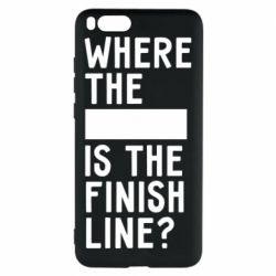 Чехол для Xiaomi Mi Note 3 Where the is the finish line?