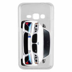 Чохол для Samsung J1 2016 White bmw