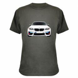 Камуфляжна футболка White bmw