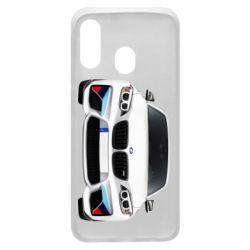 Чохол для Samsung A40 White bmw