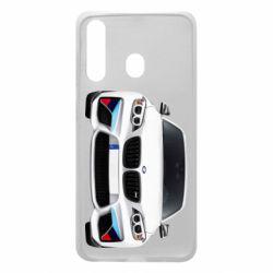 Чохол для Samsung A60 White bmw