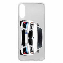 Чохол для Samsung A70 White bmw