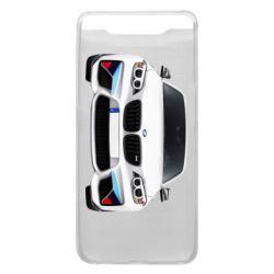Чохол для Samsung A80 White bmw