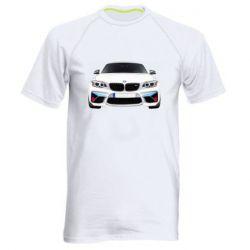 Чоловіча спортивна футболка White bmw