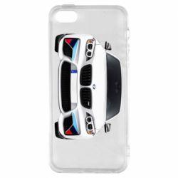 Купить Авторские принты, Чехол для iPhone5/5S/SE White bmw, FatLine
