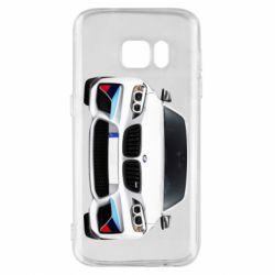 Чохол для Samsung S7 White bmw