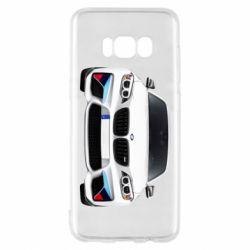 Чохол для Samsung S8 White bmw