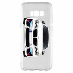 Чохол для Samsung S8+ White bmw