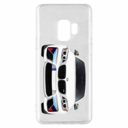 Чохол для Samsung S9 White bmw