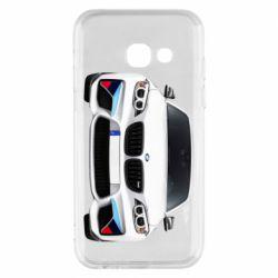 Чохол для Samsung A3 2017 White bmw