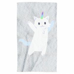 Рушник White cheerful cat