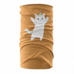 Бандана-труба White cheerful cat