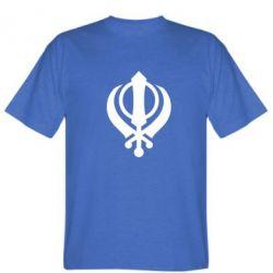 Мужская футболка White Khanda - FatLine