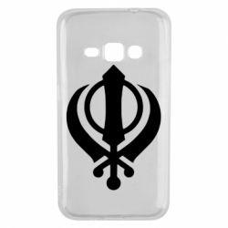 Чехол для Samsung J1 2016 White Khanda